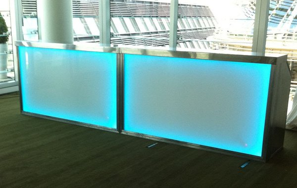 2m Straight LED Mobile Bar Units