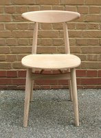 20 x Retro Style Raw Beech Chairs