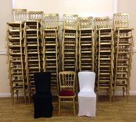 Gold / Gilt Cheltenham Stacking Event Chairs