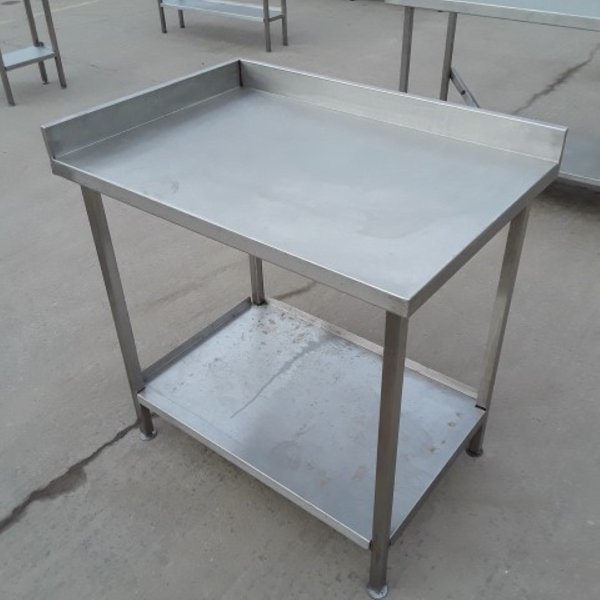950mm stainless steel table