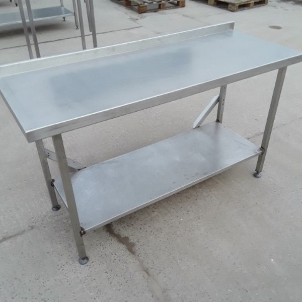 Stainless steel table 1550mm long