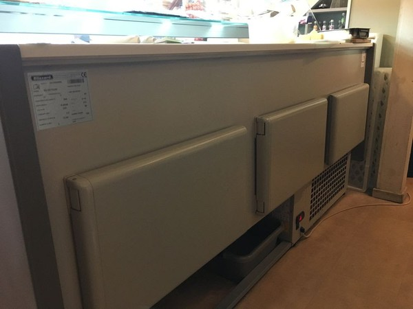 Blizzard Refrigerated Serve Over Display Counter