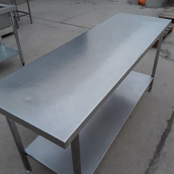180cm stainless steel table
