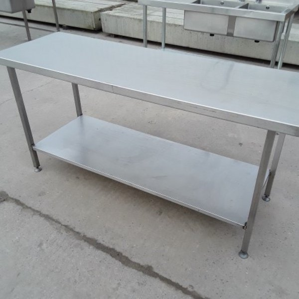 1.8m stainless steel table for sale