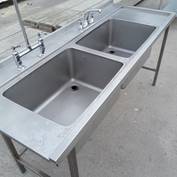 Deep double sink