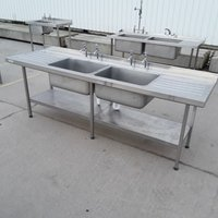 Large double sink