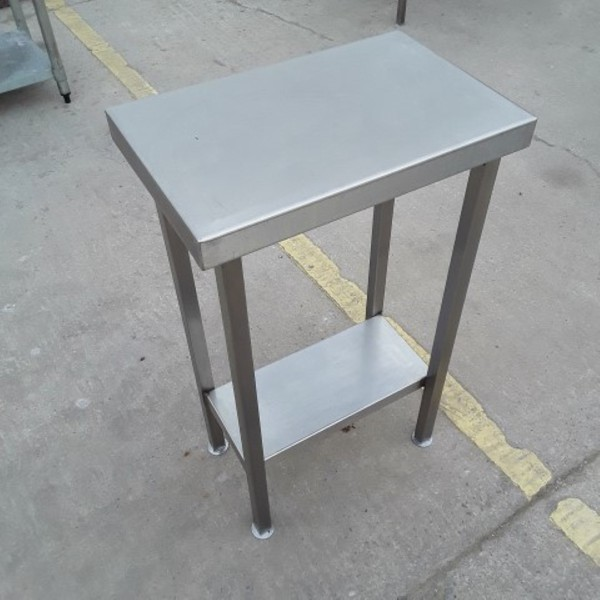 0.53m used stainless steel table