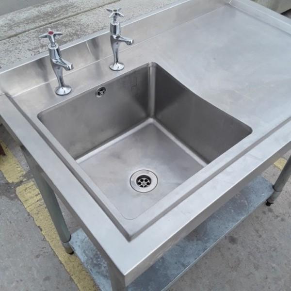 small deep single sink