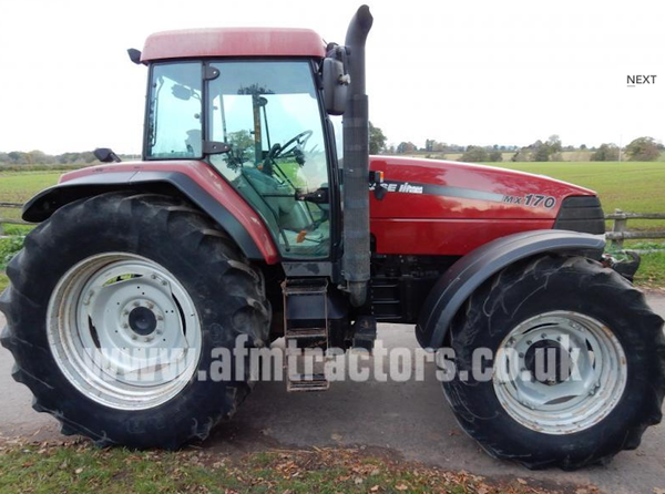 2002 Case Mx170 4WD Tractor