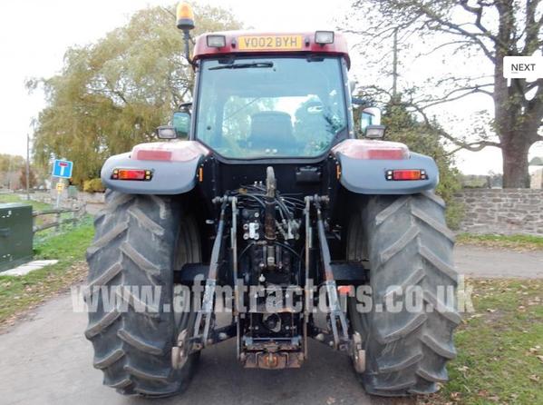 2002 Case Mx170 Farming Tractor