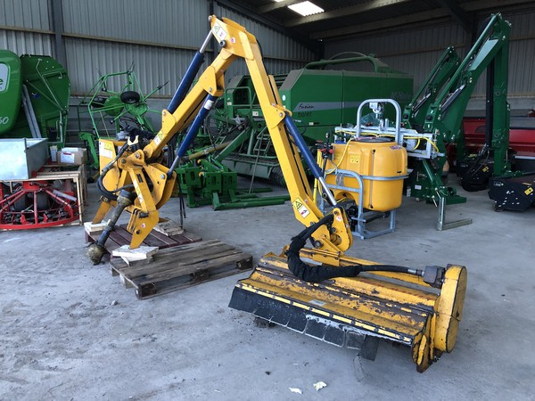 Used Bomford B458 Hedge Cutter