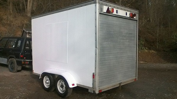 10X6 Twin Axle Box Trailer