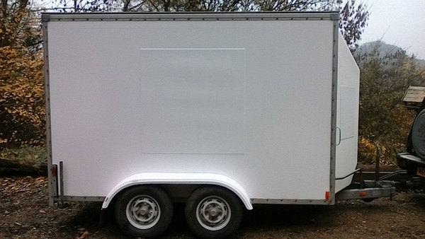 Tow A Van 10X6 Twin Axle Box Trailer