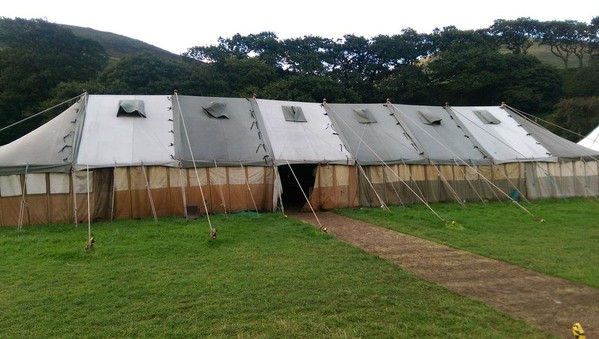 Used Ex-Army Marquees