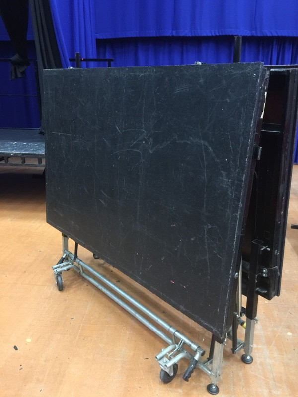Ex Theatre Sico Stage 8ft x 6ft x 3ft high