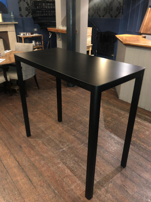 Black Poseur Tables