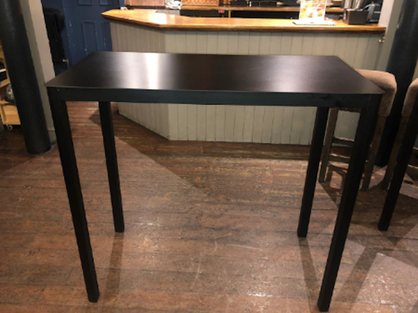 Rectangular Poseur Table