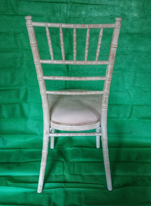 Chivari Lime Wash Chairs