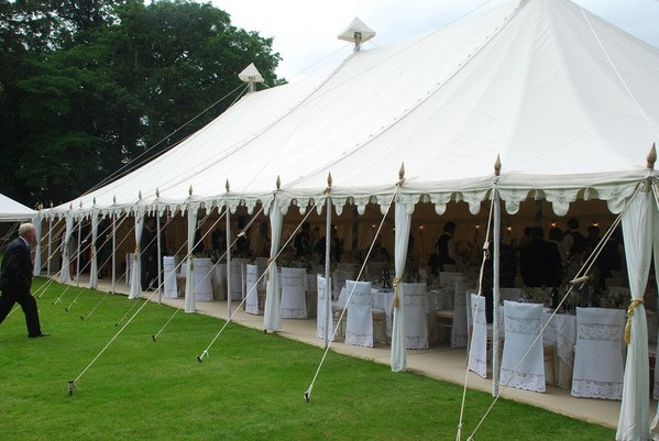Canvas wedding marquee for sale
