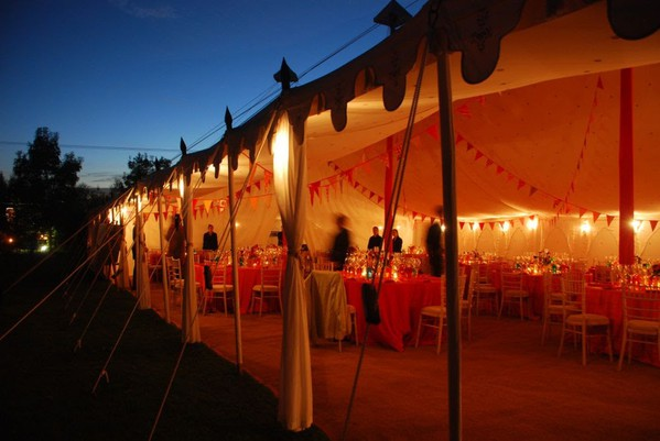 Evening function marquee