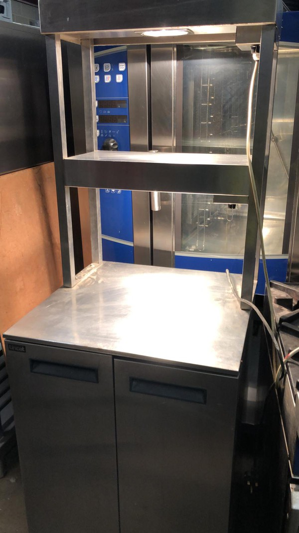 Hot Cupboard with Double Heated Cupboard