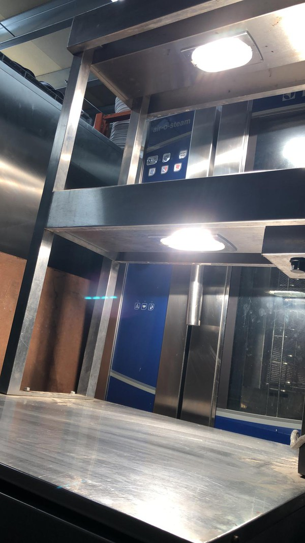 Second Hand Hot Cupboard with Double Heated Cupboard