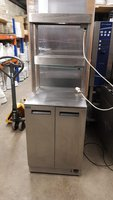 Used Hot Cupboard with Double Heated Cupboard