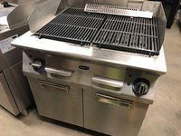 RexMartin Electric Chargrill with Cabinet
