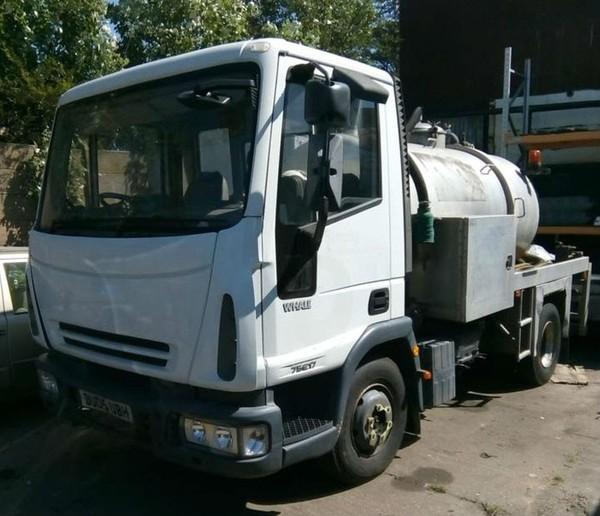 7.5T Vacuum tanker truck