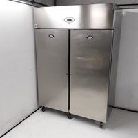 Used Foster PROG1350L-A Stainless Steel Double Upright Freezer (7850)