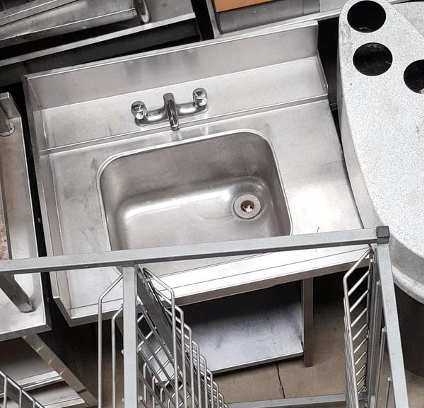 commercial corner sink
