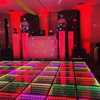 Infinity sound to light dance floor
