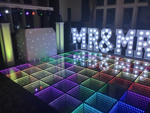 Colour changing dance floor for sale