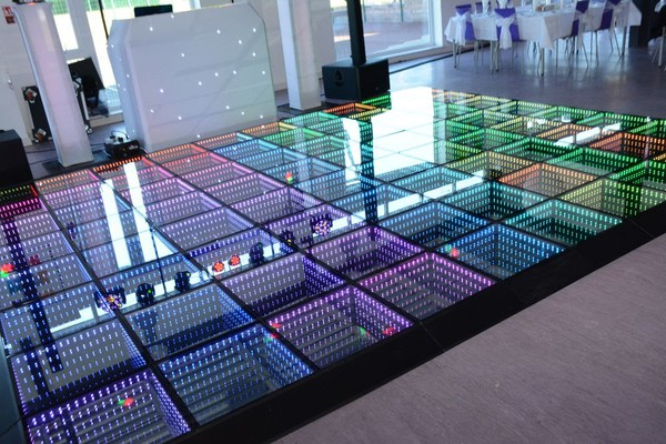Infinity sound to light dance floor for sale