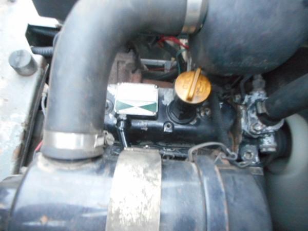 Yanmar engine with hydrostatic transmission