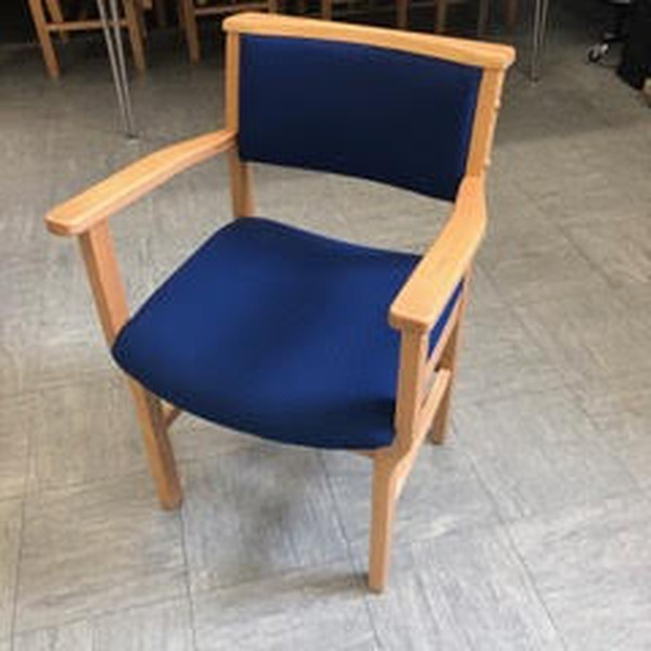 Church chairs with arms for sale
