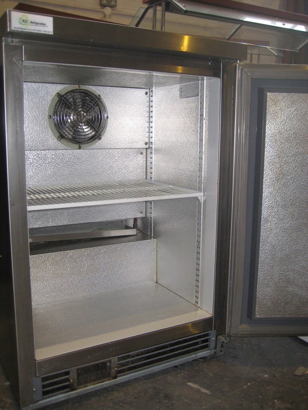 Stainless Steel Frost Tech Undercounter Fridge