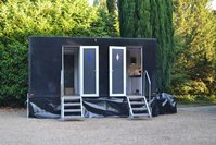 2 + 1 VIP / Deluxe toilet trailer for sale