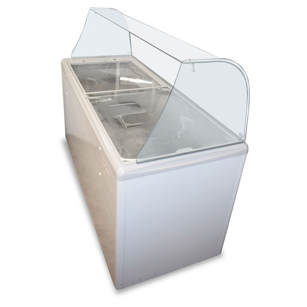 Single Phase  AHT Ice-Cream Freezer
