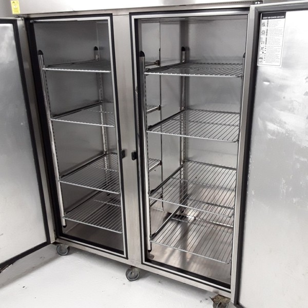 Foster PROG1350L-A Stainless Steel Double Upright Freezer