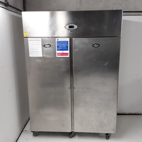 Used Foster PROG1350L-A Stainless Steel Double Upright Freezer (7851)