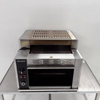 Used Rowlett 1500-RT/NG Three Conveyor Toaster	(7852)