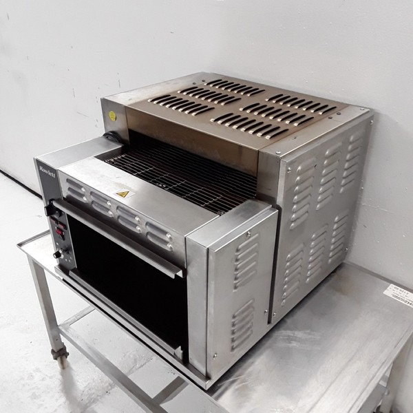 Rowlett 1500-RT/NG Three Conveyor Toaster