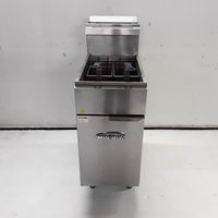 Used Imperial CIFS40 Freestanding Double Fryer (7853)