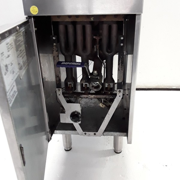 Used Imperial CIFS40 Freestanding Twin Fryer