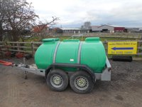 Western 2000L fast tow road towable water bowser tank