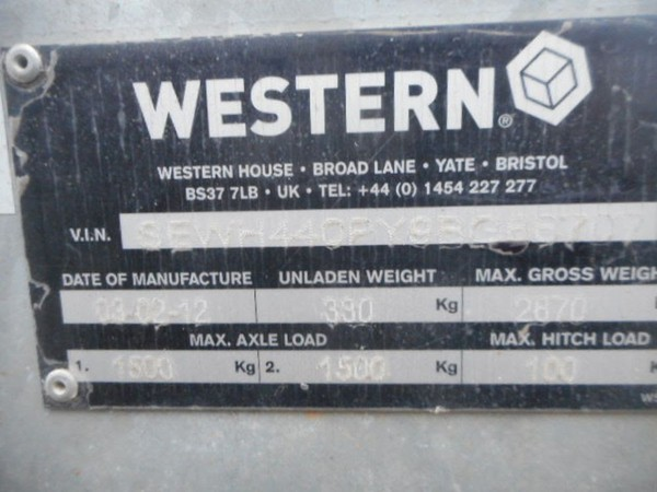 Western water trailer for sale