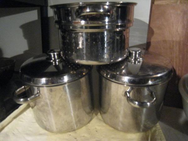 commercial saucepans