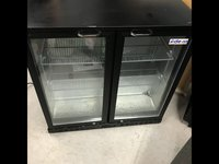 Glass fronted bar fridge for sale