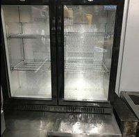 Double door bottle fridge